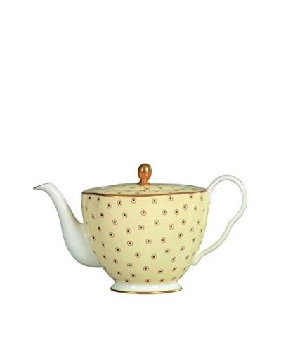 Wedgwood Polka Dot Teapot, Yellow