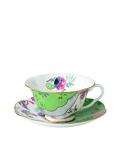 Wedgwood Butterfly Bloom Butterfly Posy Teacup & Saucer Set