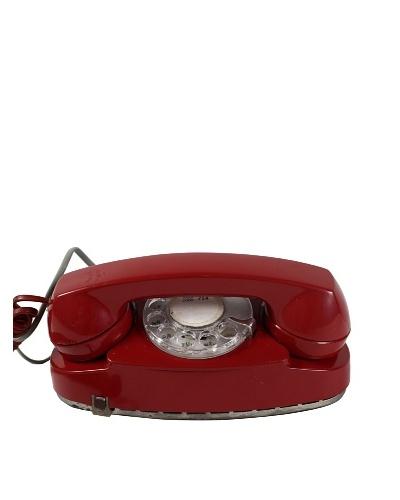 Western Electric Vintage Telephone, Red