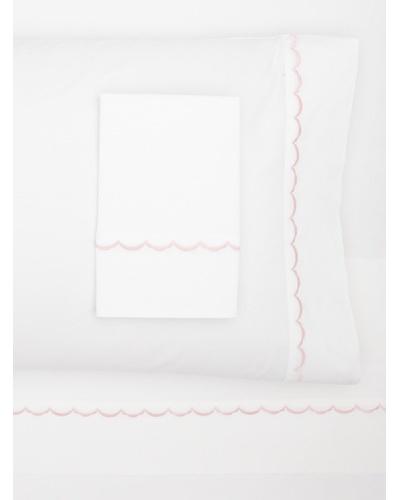 Westport Linens Scalloped Sheet Set