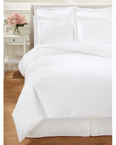 Westport Linens Scalloped Duvet Cover Set