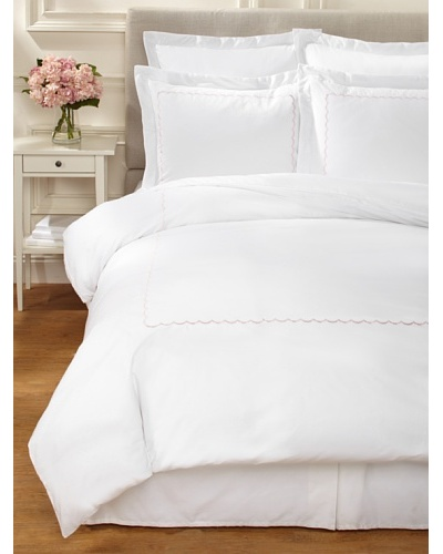 Westport Linens Scalloped Duvet Set