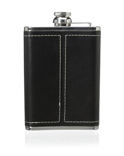 Wilouby Genuine Leather 8-Oz. Flask