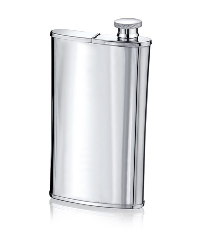 Wilouby 4-Oz. Flask with Cigar Holder