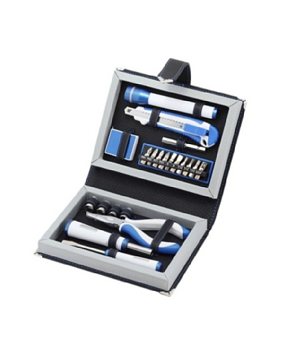 Wilouby 22-Piece Toolset, Blue