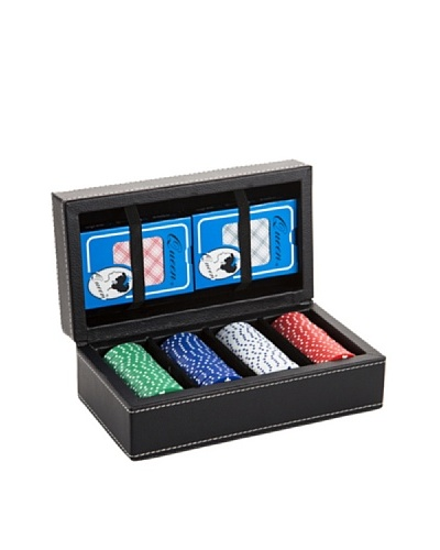 Wilouby Leather Poker Set