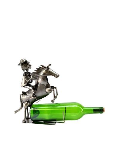 Wine Bodies by Three Star Cowboy On Horse Bottle Holder