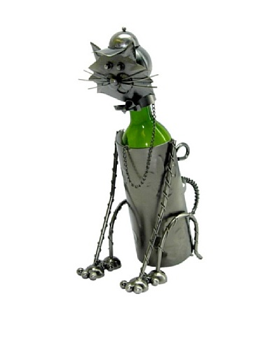 Wine Bodies by Three Star Sitting Cat Bottle Holder