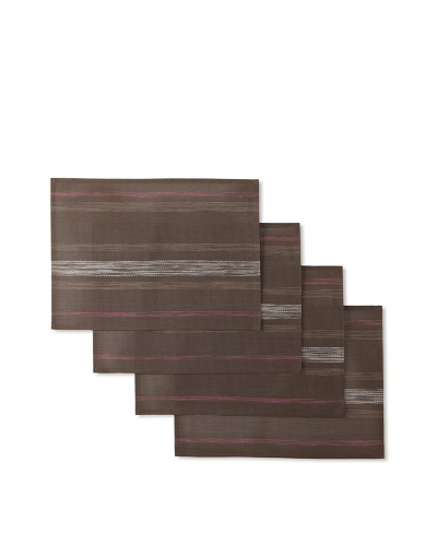 Winkler Set of 4 Paint Placemats [Ebony]