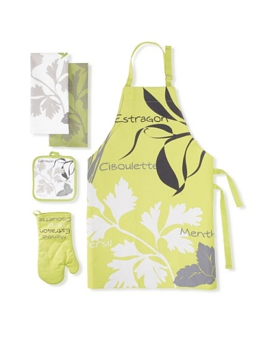 Winkler Fines Herbes Kitchen Essentials Set [Green]