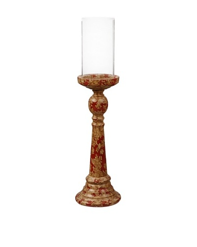 Winward Aged Stone Candle Holder