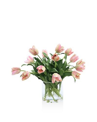 Winward Tulip In Glass [Pink]