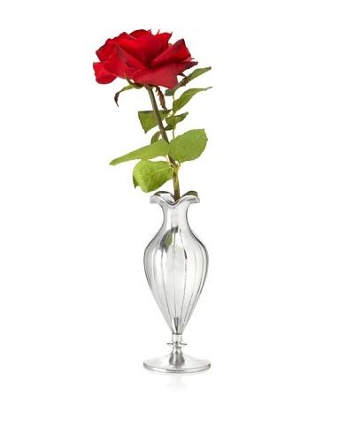 Winward Red Rose In Silver Vase
