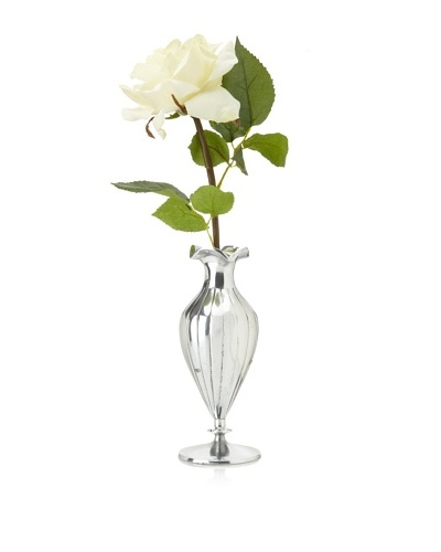 Winward Rose in Silver Vase