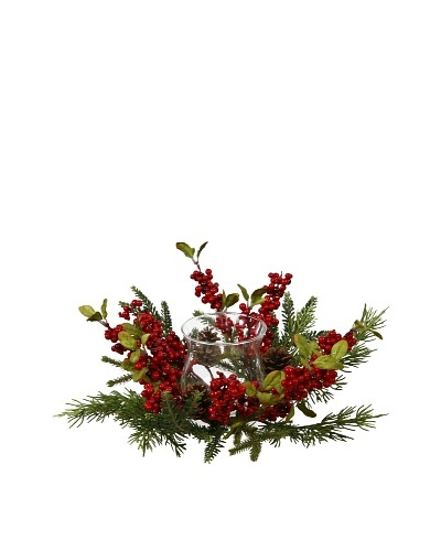 Winward Colonial Pine Berry Centerpiece