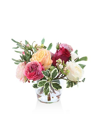 Winward 10 Rose In Glass