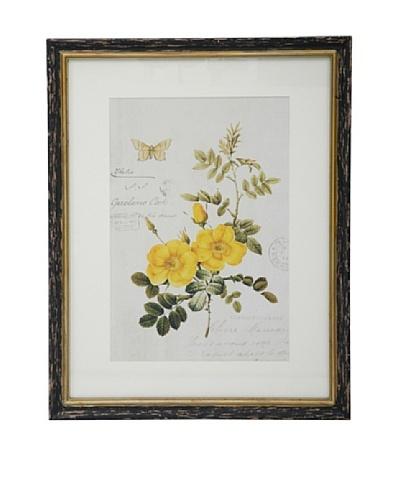 Winward Botanic Print, Yellow