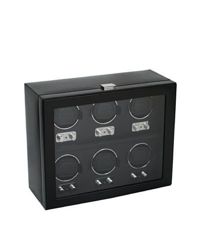 Wolf Designs 270702 Heritage Module 2.1 Six Watch Winder with Cover