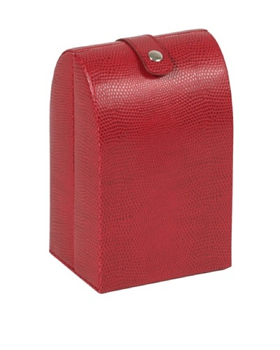 Wolf Designs South Molton Folding Travel Jewelry Case [Red]