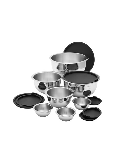 Wolfgang Puck 14-Piece Stainless Steel Mixing Bowl Set