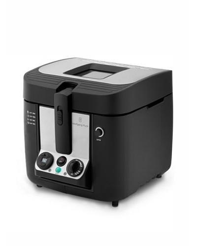 Wolfgang Puck 3-Liter Cool Touch Deep Fryer, Black