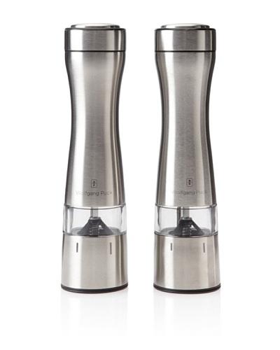 Wolfgang Puck Adjustable-Grind Salt & Pepper Mill Set
