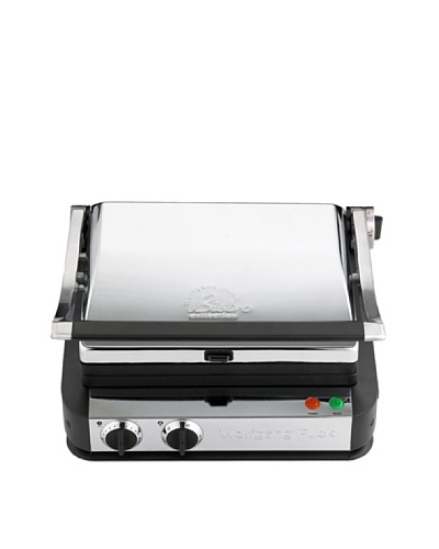 Wolfgang Puck Multi-Position Tri-Grill Panini Maker with Storage Drawer