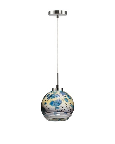 Woodbridge Lighting 1-Light Mini Pendant, Satin Nickel