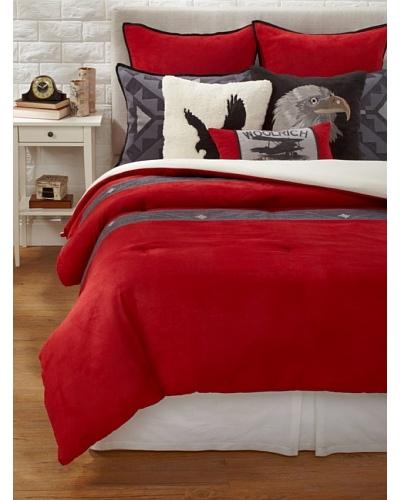 Woolrich Eagle S Nest Comforter Set Red 171 Modern