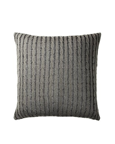 Woolrich Williamsport Euro Sham, Black/Grey