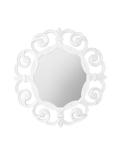 World's Away Lisette Round Mirror