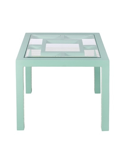 World's Away Sag Harbor Outdoor/Indoor Table [Turquoise]