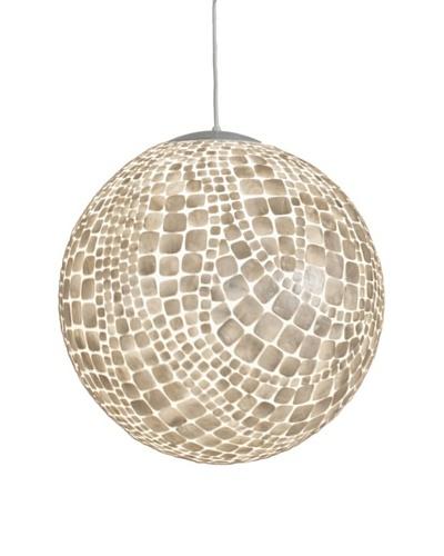 World's Away Capiz Shell Ball Pendant