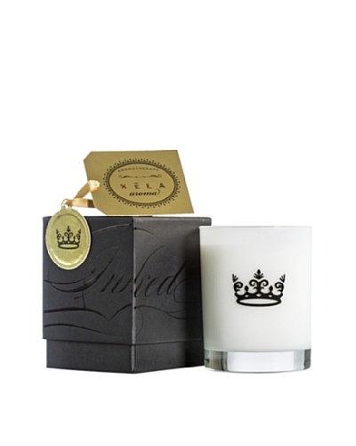 Xela Aroma 14-Oz. INKED Candle with Crown Icon