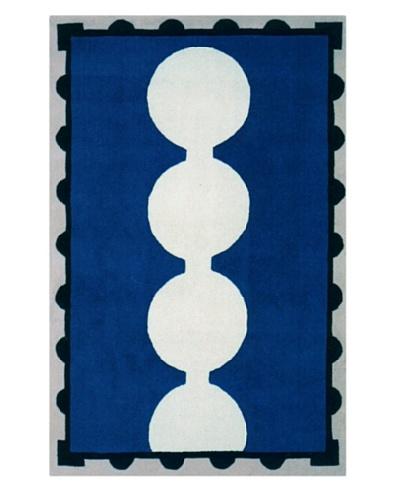 Chivalry for XpressWeave Baron Rug [Blue/Black/White]