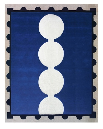 Chivalry for XpressWeave Baron Rug [Blue/Black/White]