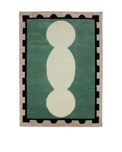 Chivalry for XpressWeave Griffin Rug [Green/Black/White]