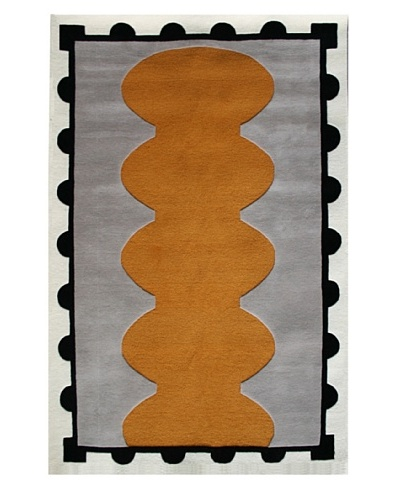 Chivalry for XpressWeave Arms Rug [Gold/White/Black/Grey]