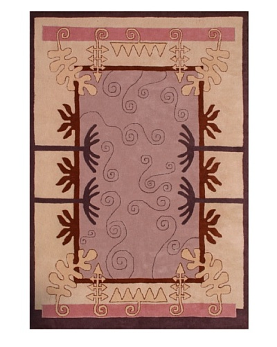 Gardens for XpressWeave Ganges Bank Light Rug [Lilac/Brown/Grey/Cream]