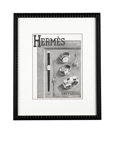 Hermes watch publicity 1939, 10 X 13As You See