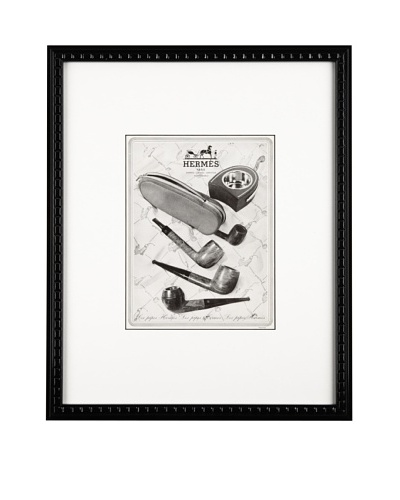 Yosha Graphics Hermes pipes publicity 1948, 9 X 11