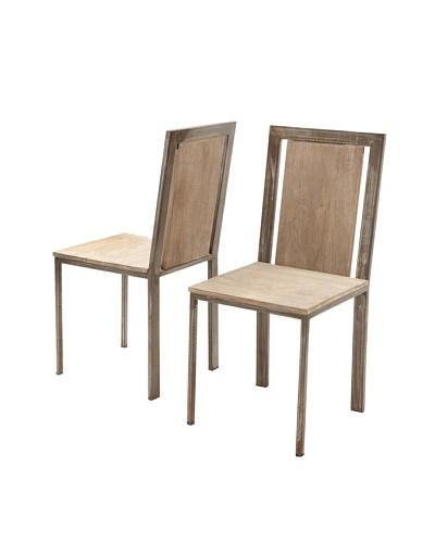 Zalva Set of 2 Laxmi Dining Chairs