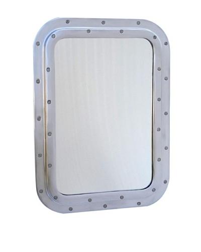 Zalva Submarine Rectangular Mirror, Steel