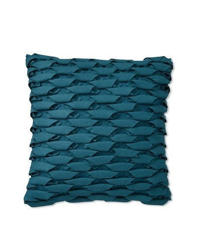 Zalva Uba Decorative Pillow, Teal, 18 x 18