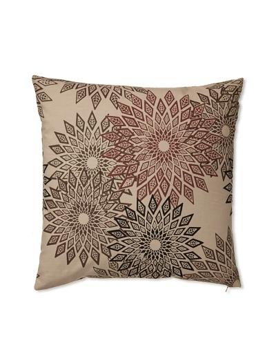 Zalva Masai Decorative Pillow [Cream/Mocha]