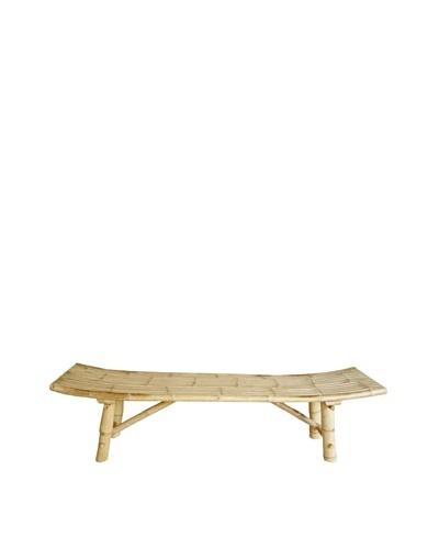 ZEW, Inc. Outdoor Bamboo Bench