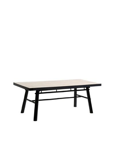 ZEW, Inc. Indoor Bamboo Rectangular Table