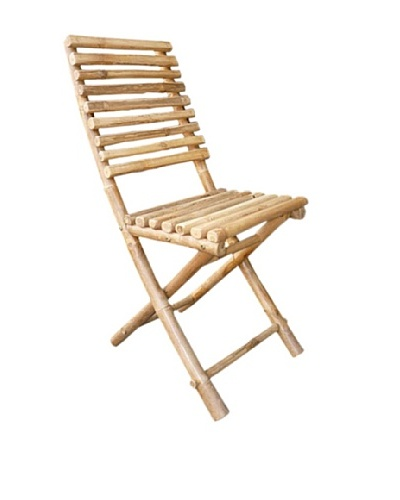 ZEW, Inc. Outdoor Bamboo collapsible Chair