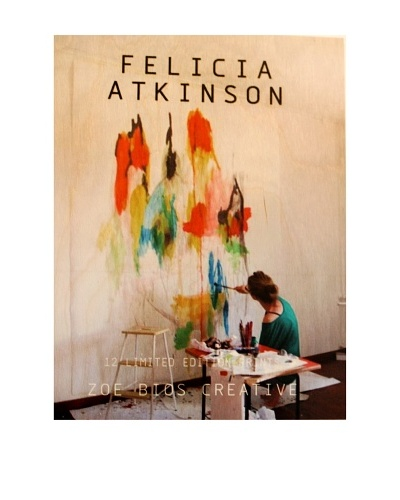 Zoe Bios Creative Felicia Atkinson Limited Edition Boxed Artwork