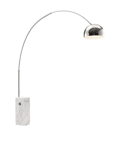 Zuo Ion Floor Lamp, Chrome